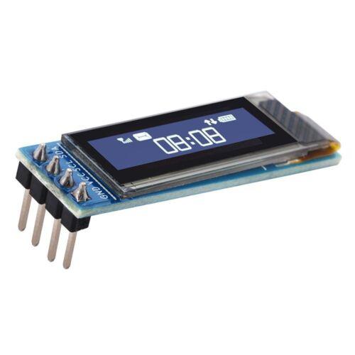 """Ecran OLED I2C 0.91/"""" 128x32 SSD1306 module affichage BLEU"""