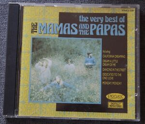 The-Mamas-and-the-Papas-the-very-best-of-CD