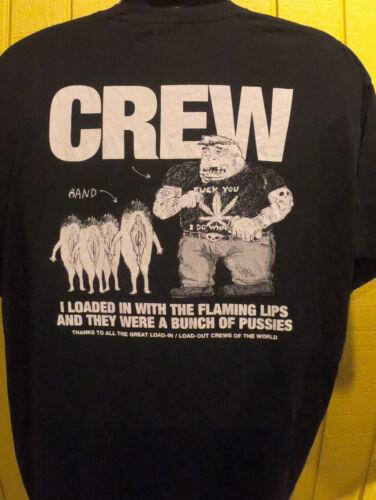 Rare The Flaming Lips Crew Tour Shirt - XXL Show M