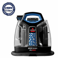 Bissell SpotClean ProHeat Portable Spot Carpet Cleaner - Refurbished