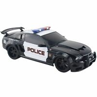 1/18 Scale 2014 Ford Mustang Boss Police Car Radio Remote Control W/light R/c