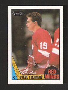 1987-88-OPC-O-Pee-Chee-STEVE-YZERMAN-56-NEAR-MINT-Hockey-Detroit-Red-Wings