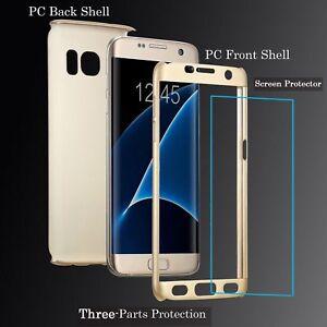 Para-Apple-I-Telefono-5-6-7-8-X-Front-amp-Back-Fino-Delgado-Estuche-Cubierta-100-de-proteccion