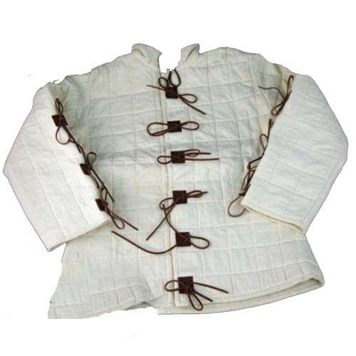 Medieval Armour Thick Padded Authentic Colour Cotton Gambeson