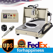 Usb 3axis 6040 Cnc Router Engraver Milling Machine 3d Wood Cutting 15kw