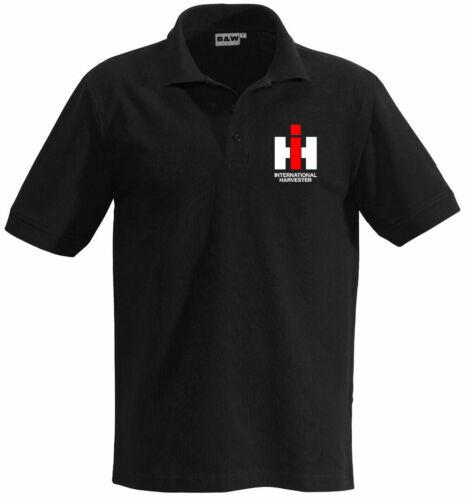 Harvester Oldtimer Polokleiner Brustdruck IHC Poloshirt370-1-Int