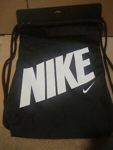 Bombero Terapia cálmese  Nike Drawstring Bag BA5262-015 | eBay