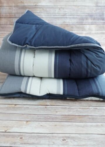 Striped Sleeping Bag Camping Festival Hiking super warm Quilted Padded Soft kids