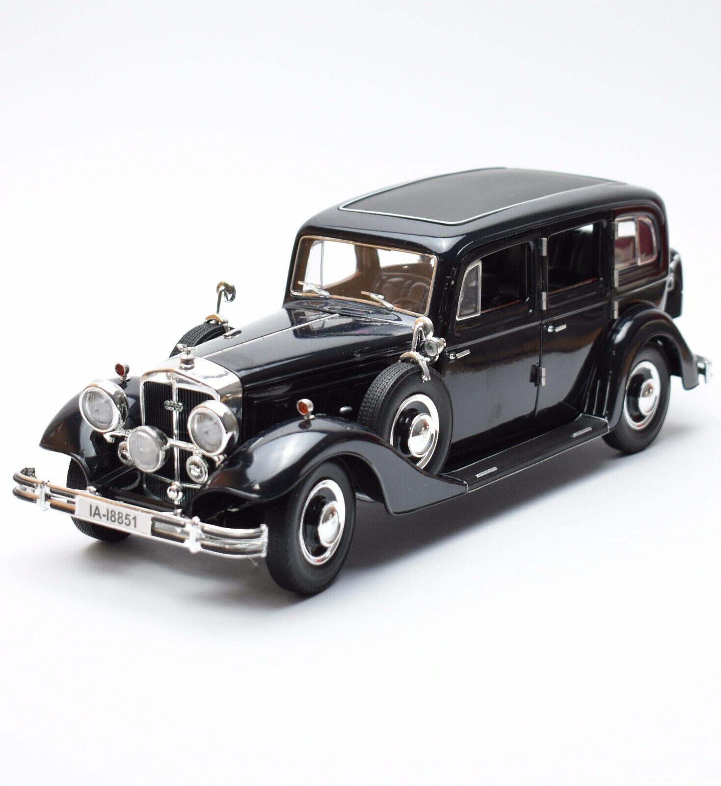 Ricko horch 851 Pullman Oldtimer año 1935 en nero pintado, OVP, 1 18, k007