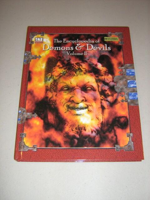 d20: The Encyclopedia of Demons & Devils Volume II (HC) (New)
