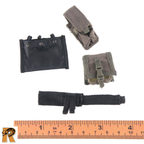 Pouches Set x4-1//6 Scale Modeling Action Figures Navy SEAL Boarding Unit