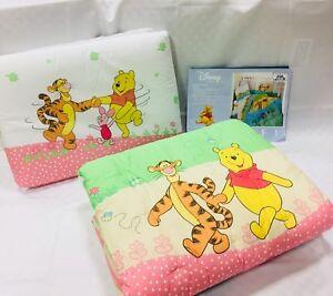 Trapunta Winnie The Pooh.Dettagli Su Trapunta Piumone Invernale Con Paracolpi Per Lettino Caleffi Winnie Pooh Coutry