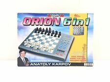 Millenium Chess School Intelligent Chess Anatoly Karpov 6 in 1 VGC FREE UK POST