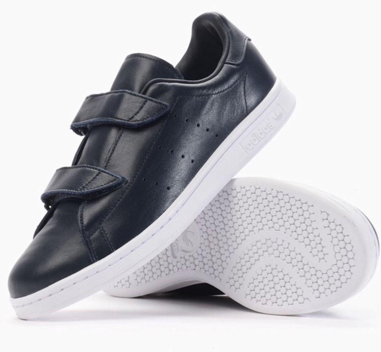 Adidas Originals Hyke veloce AOH-005 X blu scuro in pelle unisex tg