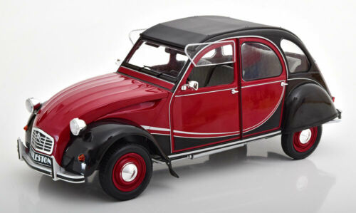 1:12 Z-Models Citroen 2 CV Charleston 1978 darkred//black