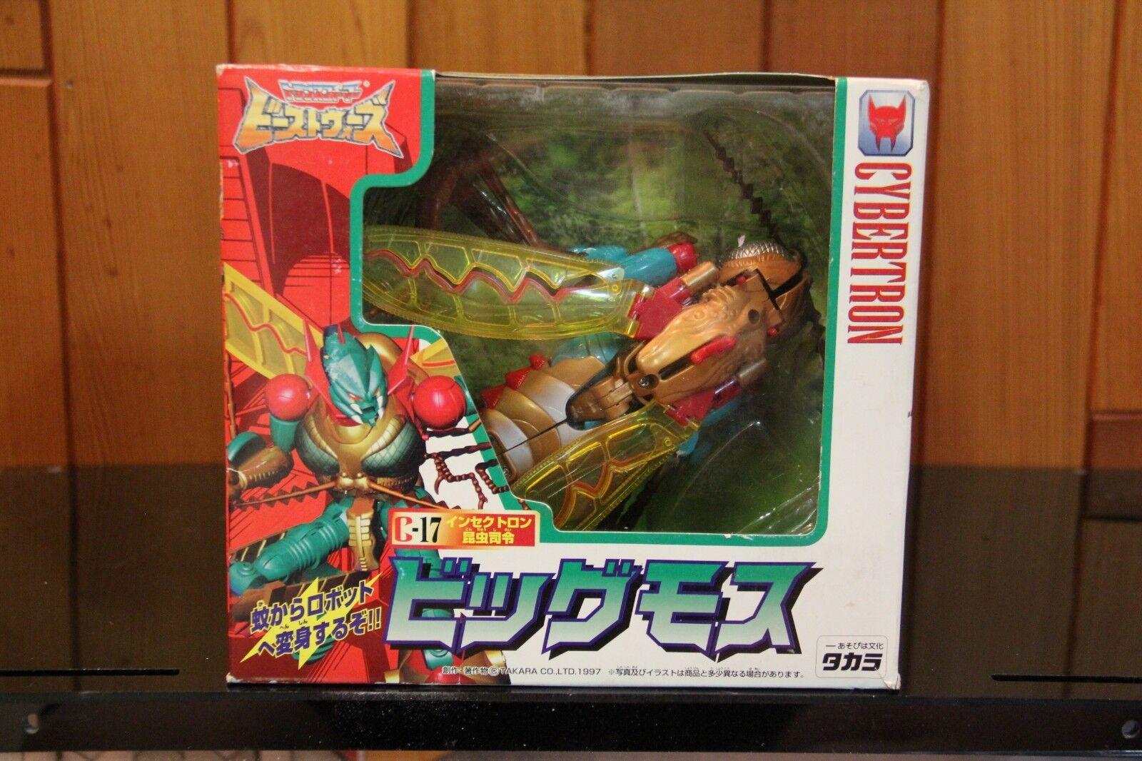Takara Transformers Beast guerras C17 gree Moss
