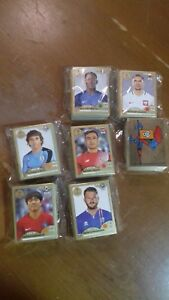 Figurine-Panini-world-cup-Russia-2018-complete-set-GOLD-EDITION-Swiss-stickers