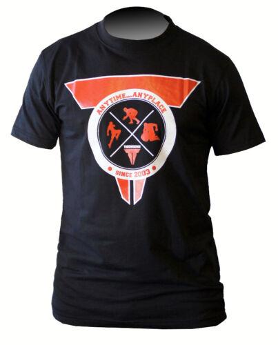 Herren T-Shirt Fitness Kampfsport MMA Boxen Throwdown T-Shirt Fightsquad