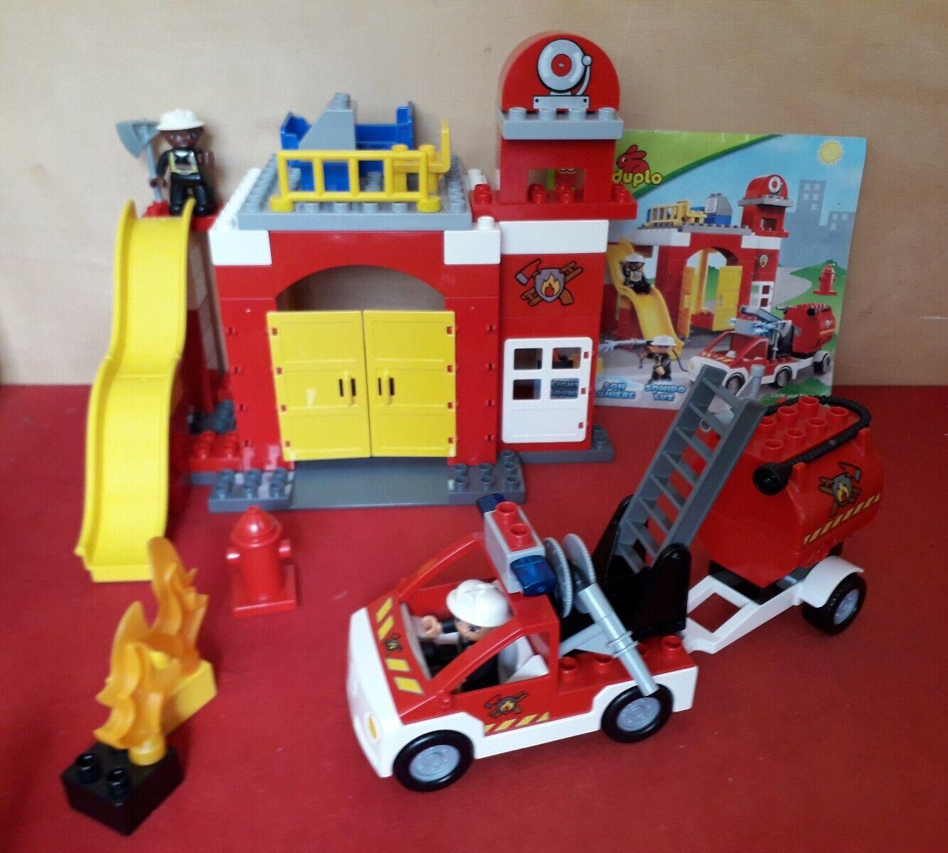 Lego Duplo 6168 Fire Station (2012) - completo 100% no box si istruzioni