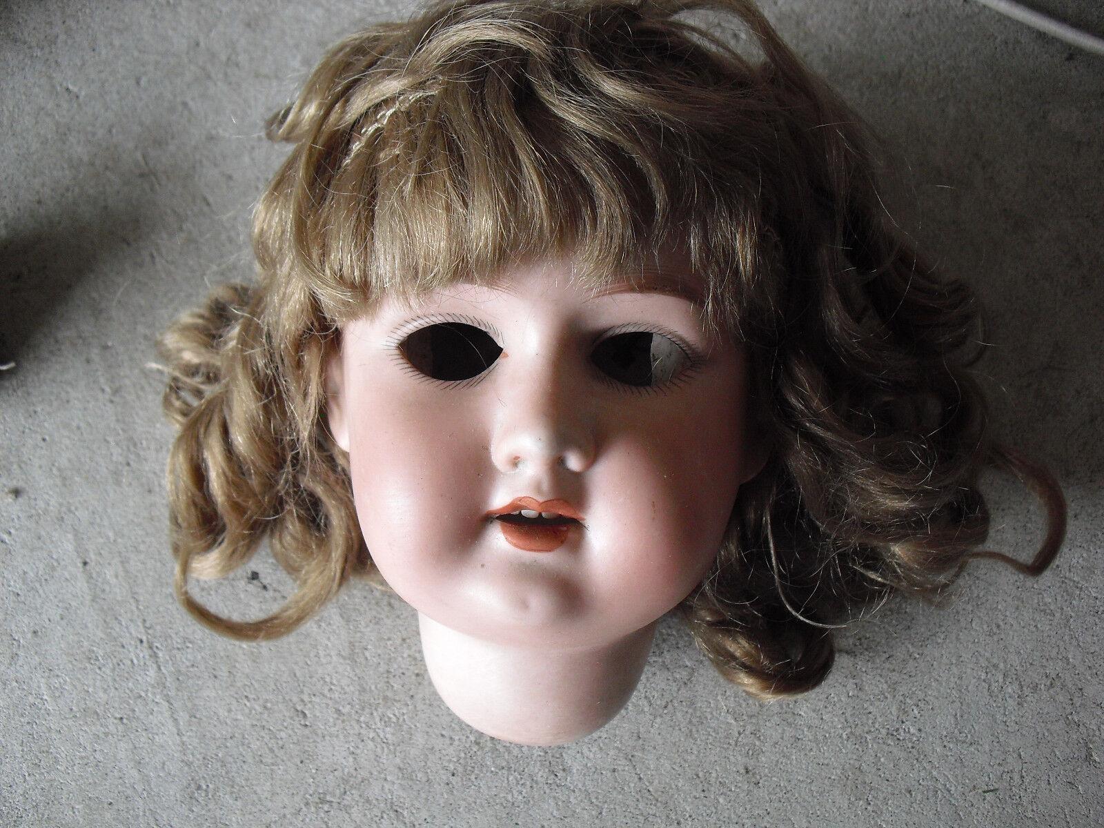 Vintage Geruomoy Aruomod Marseille Florodora A 8 M Bisque  Girl bambola Head 5 1 2  T  sconto di vendita