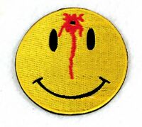 Bulls Eye Happy Face Small Badge Biker Vest Jacket Motorcycle Patch