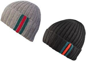 Homme ou Femme Grosses Mailles Bonnet Hiver Beanies Tricot Wooly Fashion cap