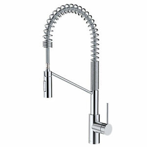 Kraus Oletto Contemporary Single Handle Pull Down Kitchen Sink