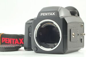 [TOP MINT STRAP] Pentax 645N Medium Format Camera w/ 120 Film Holder From JAPAN
