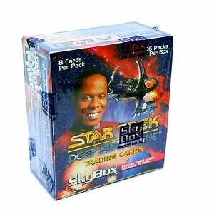 Star-Trek-Deep-Space-Nine-Trading-Cards-by-Skybox-36-Packs-Trade-Mark-1993
