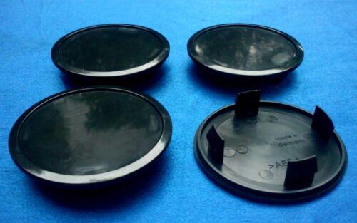 4x Nabenkappen Nabendeckel Felgendeckel Träger 68,0 mm  55,5 mm schwarz  A01