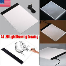 NEW Hot A4 LED Artist Thin Art Stencil Board Light Box Tracing Drawing Board BT
