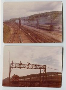 2 1974 Vintage Croton New York Penn Central Amp Amtrak