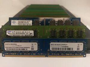 LOT-250-SAMSUNG-MICRON-HYNIX-2GB-DDR2-PC2-6400-800MHz-NONECC-DESKTOP-MEMORY-RAM