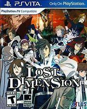 LOST DIMENSION VITA STRAT NEW VIDEO GAME