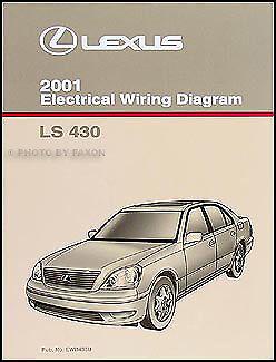 2001 Lexus LS 430 Wiring Diagram Manual LS430 Original ...