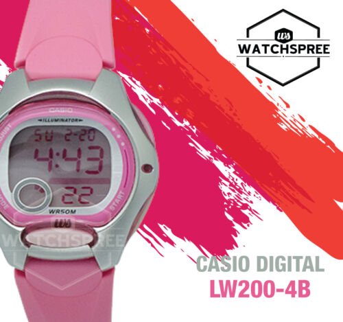 1 of 1 - Casio Standard Digital Watch LW200-4B
