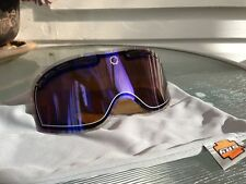NEW Spy Comet snow goggles replacement lens: Bronze with Blue Spectra Mirror