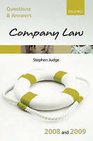 Q & A: Company Law 2008 and 2009 (Blackstone's Law Questions and-ExLibrary