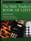 The Math Teacher's Book of Lists by Muschla (Paperback, 2005)