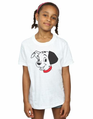 DISNEY fille 101 DALMATIENS DALMATIAN Head T-Shirt