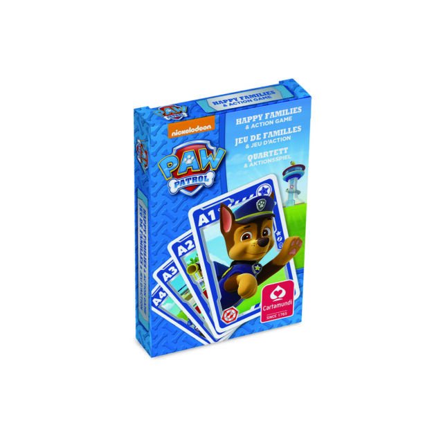 Paw Patrol Quartett Kartenspiel Spielkarten Spiel Kinderspiel 3 Motive NEU