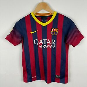 Barcelona-FC-Soccer-Jersey-Youth-Size-Medium-11-Neymar-Jr-Short-Sleeve