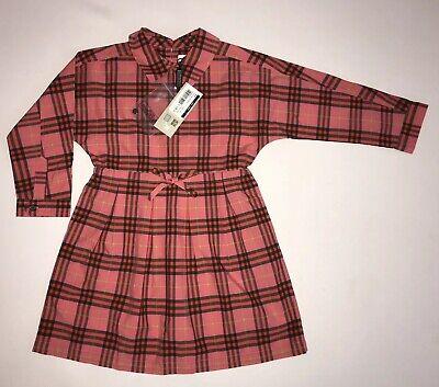 Burberry Ragazze Vestito Bnwt Rrp £ 136 Ora £ 75-mostra Il Titolo Originale