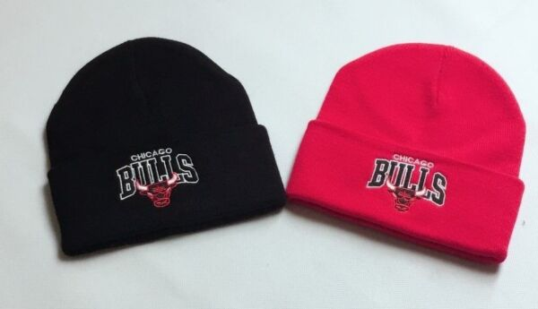 1bbb5377700 New Supreme Unisex Women Men Chicago Bulls Plain NBA Basketball Cap Beanie  Hats