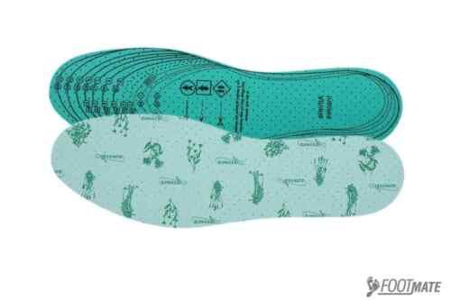 32-46 NEU 3 Paar AROMA Schuheinlagen gegen Fußgeruch Einlegesohlen Sohlen Gr