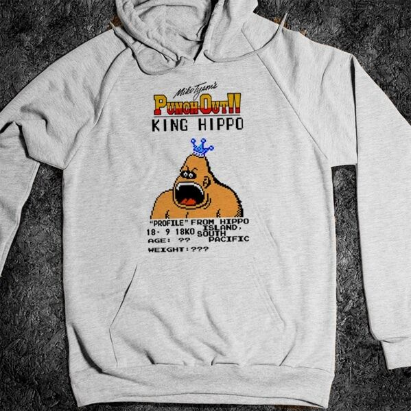 MIKE TYSON PUNCHOUT HOODIE, T-SHIRT, NES, VIDEOGAME, BOXING, RETRO, TANK TOP