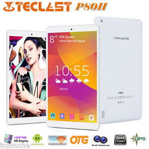 "8"" Pollici Teclast P80H PC Tablet Android 5.1 Quad Core 2x WIFI GPS OTG 1280x800"