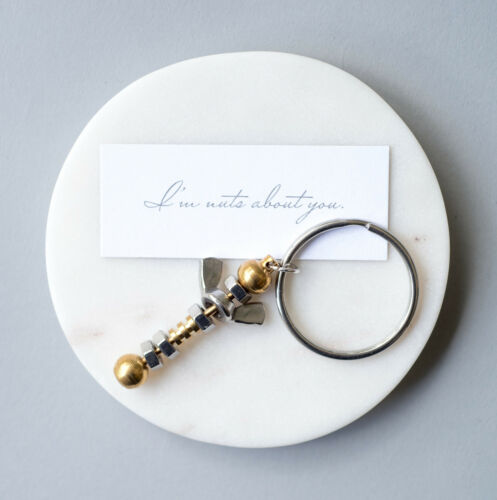 I/'m Nuts About You Keyring Valentines Day Gift Gift For Him Romantic Keyring