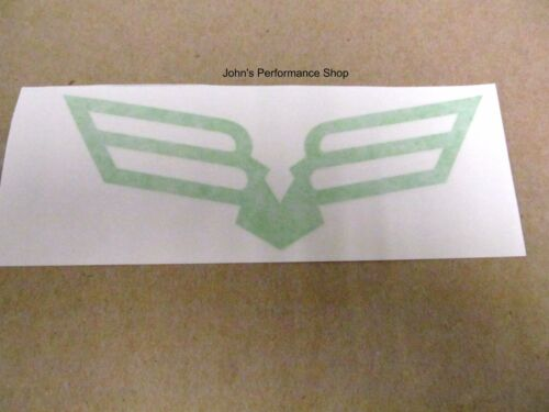 """OEM Lime Green Textron Off ATV Road Birds of Prey Decal Sticker 6/"""" 5288-352"""
