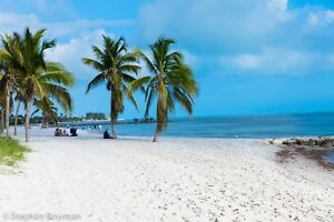 Digital Image Picture JPEG Desktop Wallpaper. Key West Beach.